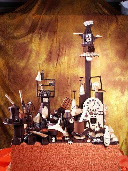 sculture cioccolato