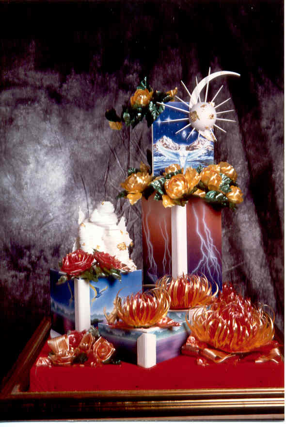 sculture zucchero